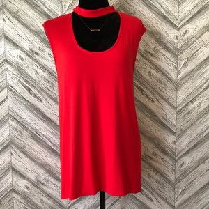VINCE CAMUTO Red Blouse, GUC, Medium
